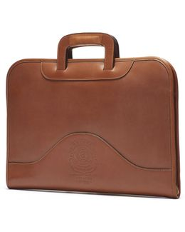 Chestnut Leather Attache