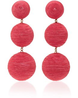 Classic Silk Corded Clip Earrings