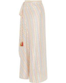 Padma Reversible Stripe Maxi Skirt