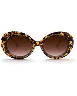 Iris Blonde Tortoise Sunglasses