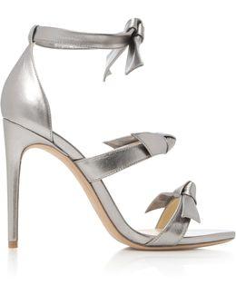 Gianna Metallic Leather Sandals
