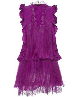 Ruffled Sleeveless Day Dress