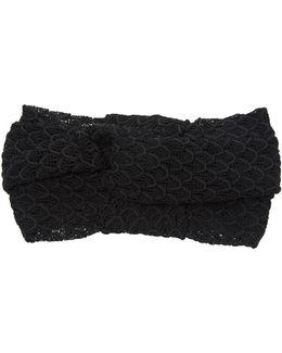 Knotted Crochet-knit Headband