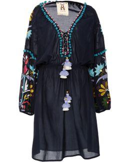 Victoria Pompom Dress