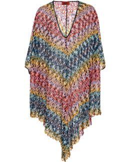 Crochet-knit Coverup