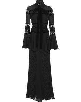 Bell Sleeve Maxi Dress