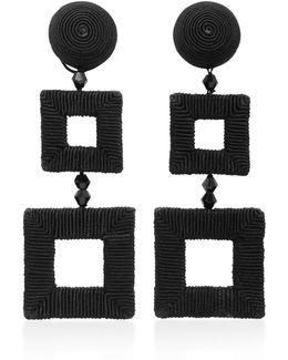 Square Clip Earrings
