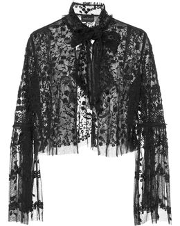 Primrose Lace Evening Jacket