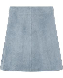 Jenny Suede Mini Skirt