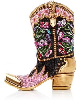 Belle Cowgirl Boot Clutch