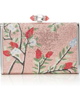 M'o Exclusive Songbird Crystal Clutch