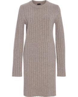 Ribbed-knit Tunic
