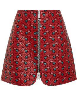 Heina Printed Mini Skirt