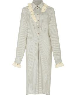 Tasseled Silk Dress