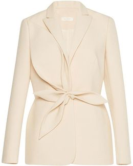 Blazer With Leaves