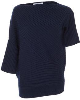 Infinity Rib-knit Merino Wool Top