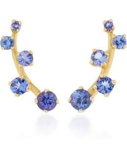 Sanyati 18k Gold Tanzanite Earrings