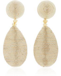 Silk Drop Earrings