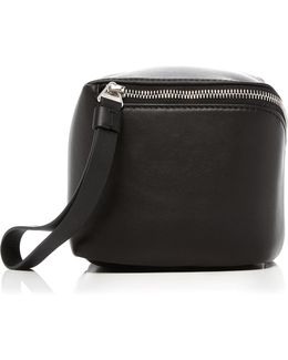 Mini Cube Leather Bag