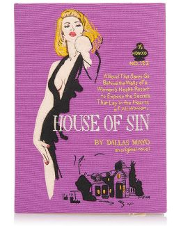 House Of Sin Book Clutch