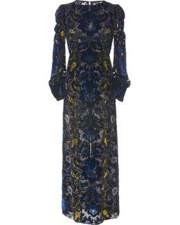 Arabesque Velvet Dress