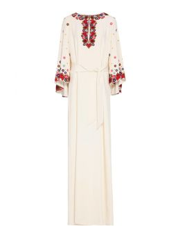 Embroidered Lito Gown