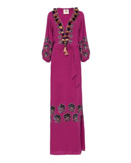 Embroidered Lola Gown