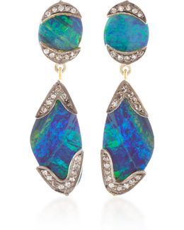 Indorussian Opal Earrings