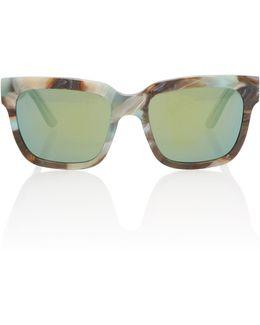 Victoria Square-frame Acetate Sunglasses