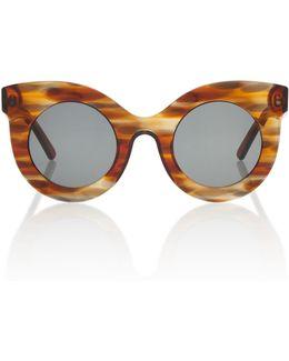 Millicent Round-frame Sunglasses