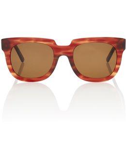Agatha Square-frame Sunglasses
