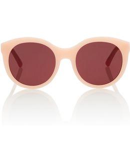 Zora Round-frame Sunglasses