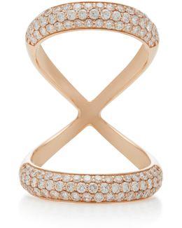 Olympus 18k Rose Gold Diamond Ring