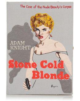 Stone Cold Blonde Book Clutch
