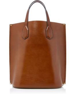 Aubuck Small Leather Tote