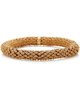 Thick Florentine Finish Twister Luxe Bracelet