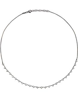 White Diamond Short Necklace