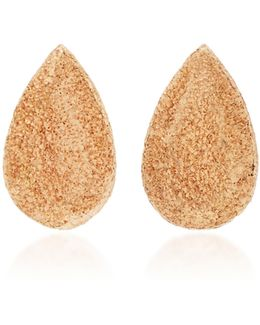 Small Pear Florentine Studs