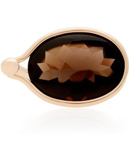 Smokey Quartz Savannah Ring