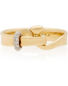 Yellow Gold Torun Ring