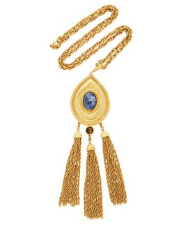 Bohemian Necklace With Tassels