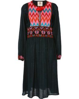 Violeta Tassel Mini Dress