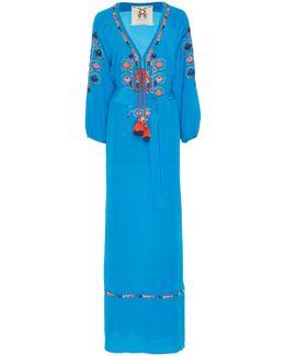 Lulu Tassel Midi Dress