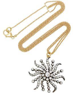 Antique Diamond Sunshine Necklace