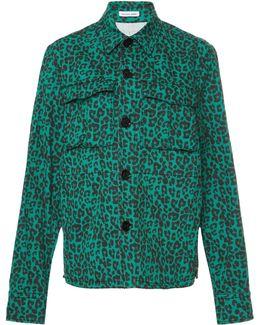 Leopard Palm Jacket