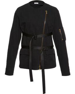 Gabardine Strap Jacket