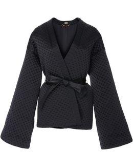 Silk Charmeuse Kimono Jacket
