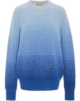 Ombre Shaker Sweater