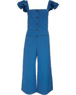 Callie Flutter Strap Jumpsuit