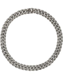 Micro Pave Link Necklace